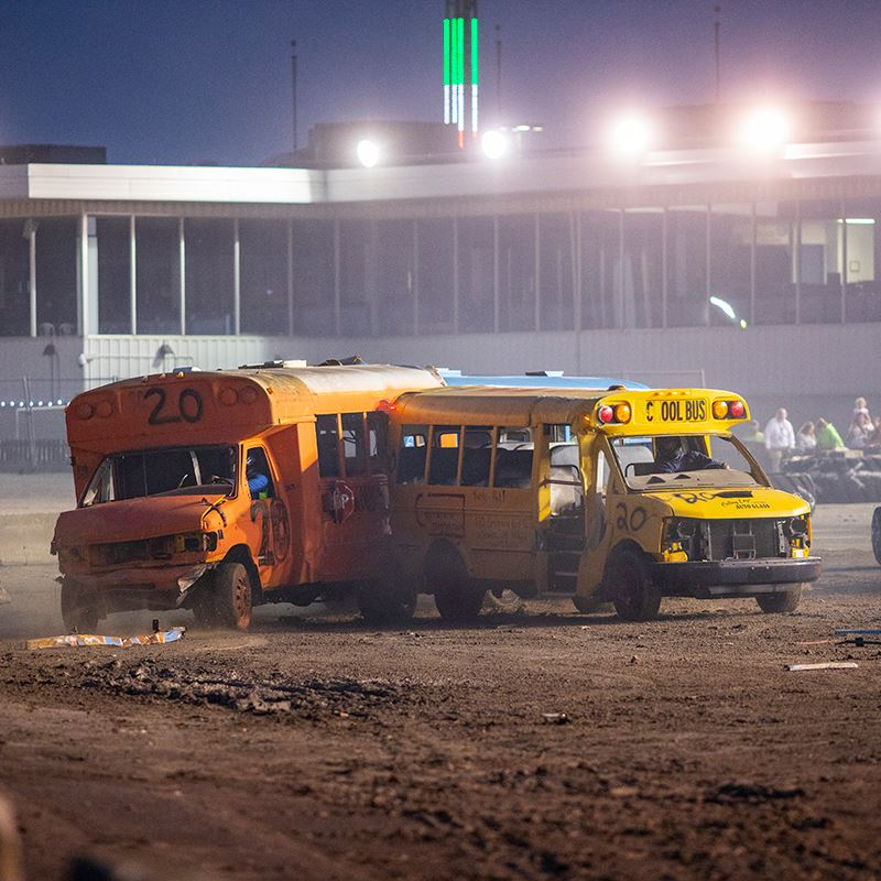 Busses Crashing
