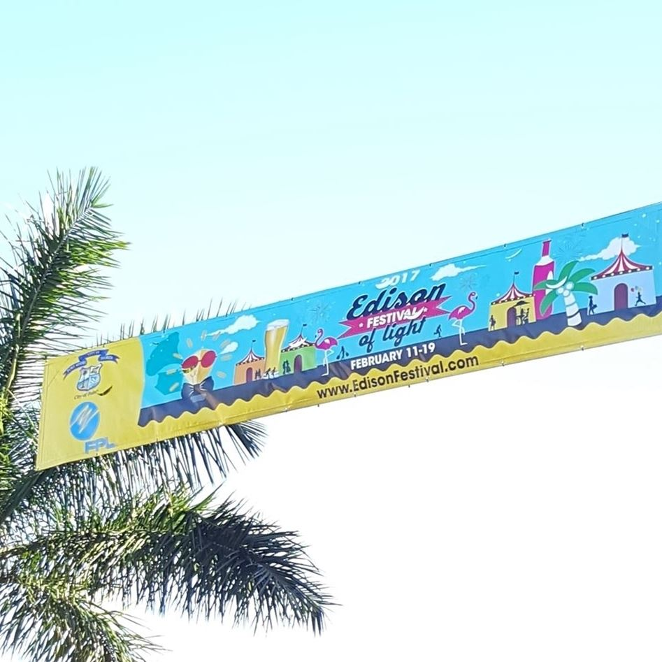 Street Banner and Signage