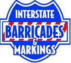 Interstate Barricades and Markings