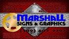 Marshalls Signs