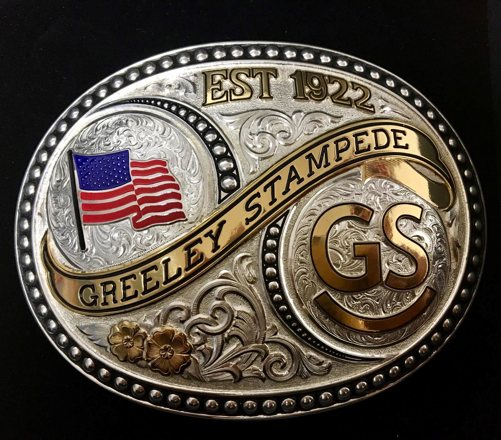Flag and Brand Buckle