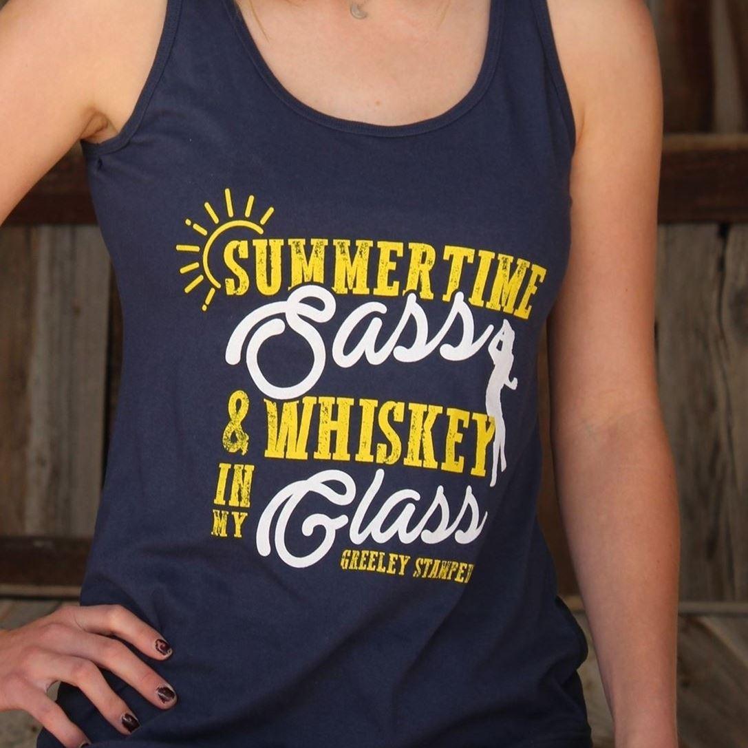 Summertime & Whiskey Tank