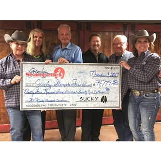 RECORD BREAKING DONATION FROM STAMPEDE
