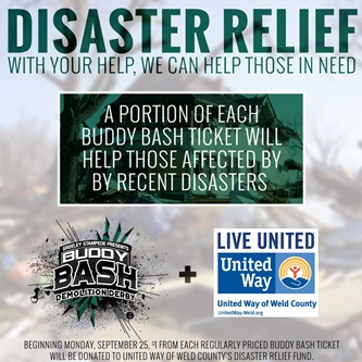 TICKETS SALES TO SUPPORT DISASTER RELIEF FUND