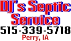 DJ's Septic Service