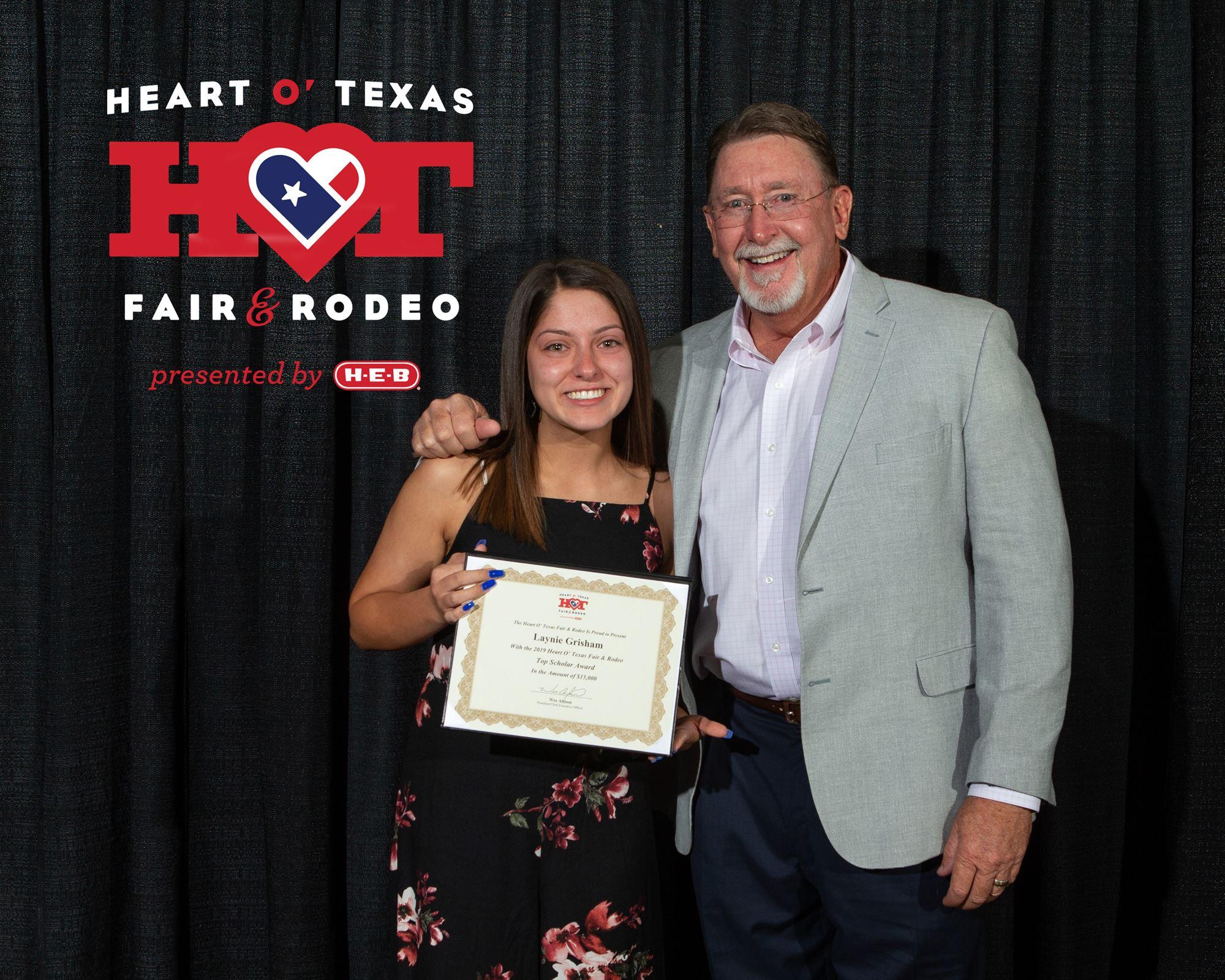 Heart O' Texas Fair & Rodeo Scholarships