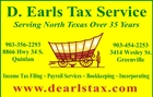 D Earls Tax Service