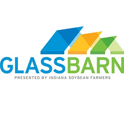 Indiana Soybean Farmers Glass Barn