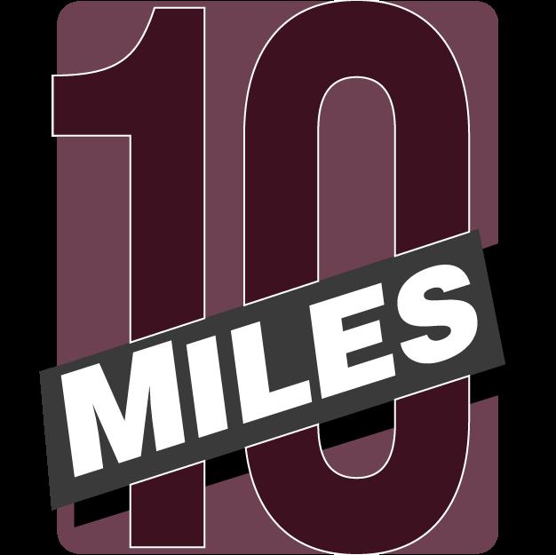 10-Miler Badge