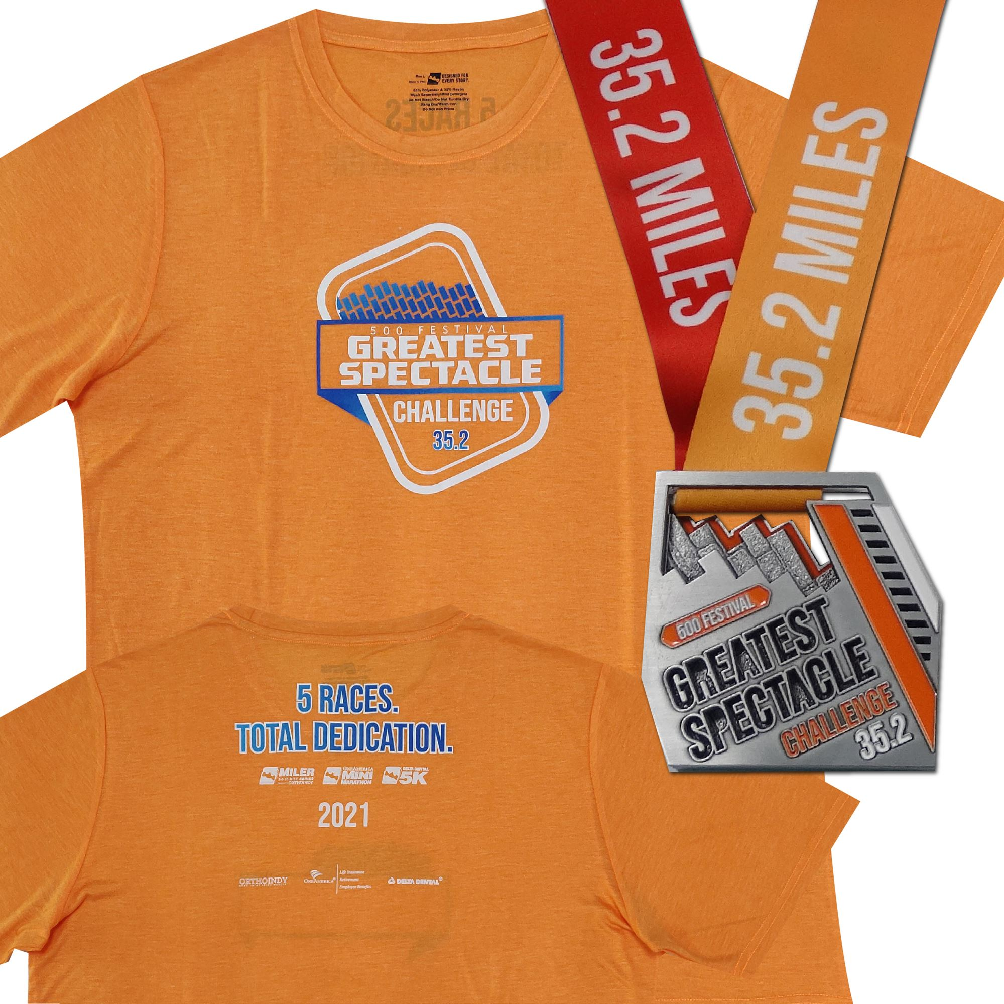 Greatest Spectacle Challenge | 35.2 Miles