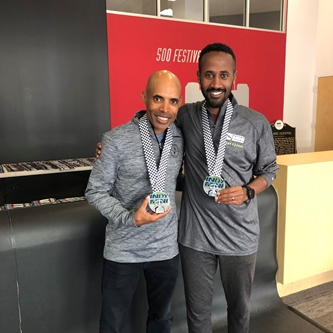 FUTSUM ZIENASELLASSIE & MEB KEFLEZIGHI NAMED OFFICIAL PACESETTERS FOR THE 2020 ONEAMERICA 500 FESTIV