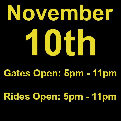 Wednesday, November 10th