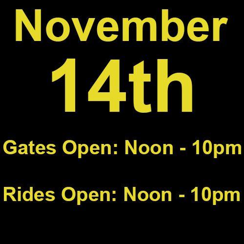 Sunday, November 14th
