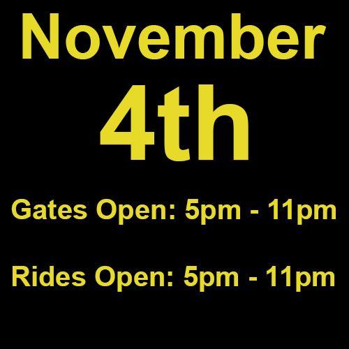 Thursday, November 4th