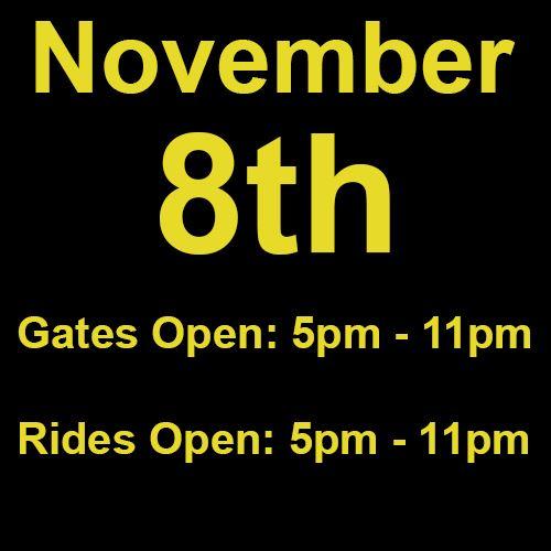 Monday, November 8th
