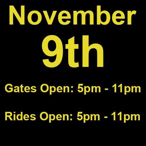 Tuesday, November 9th