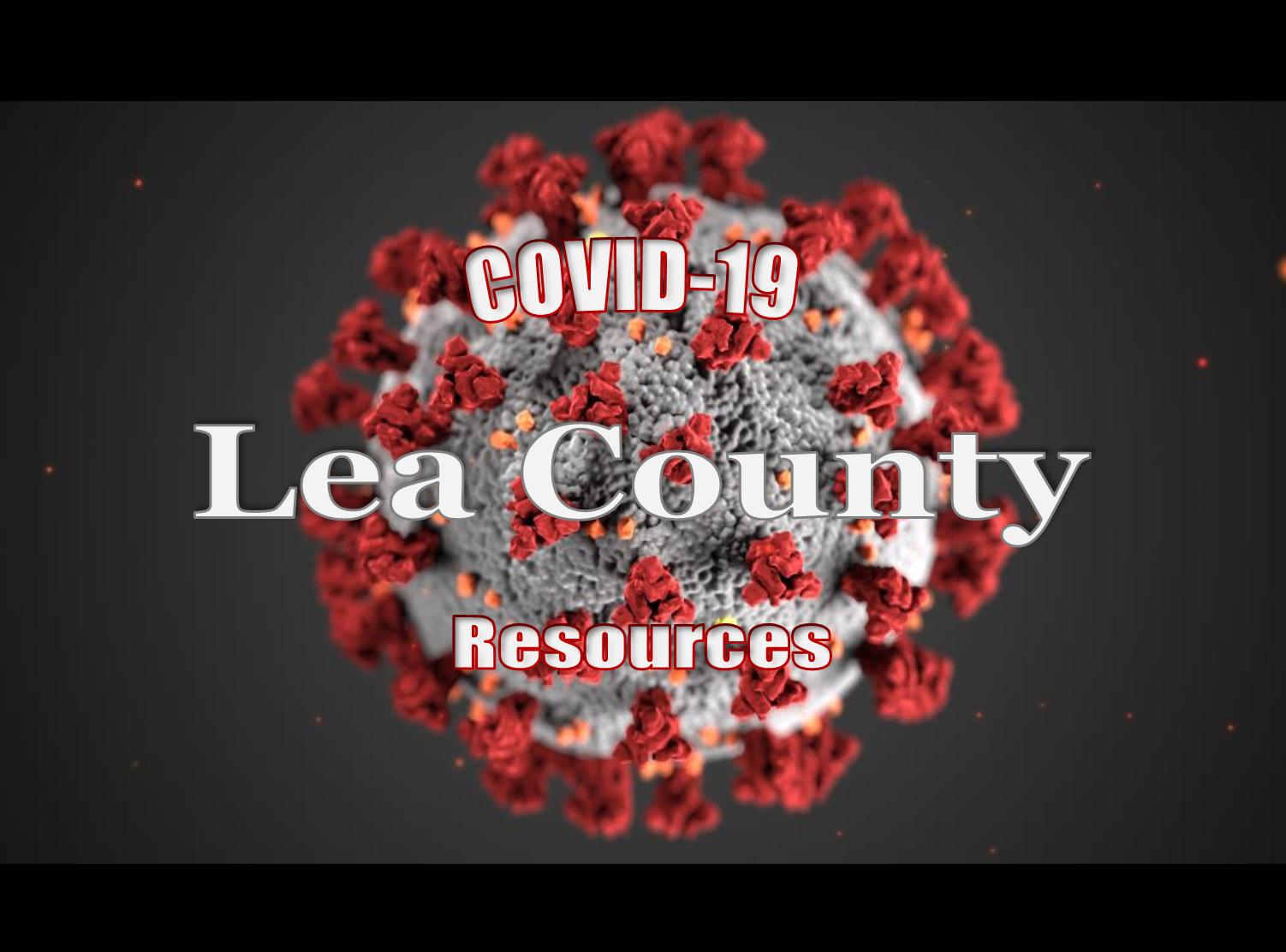 Lea County COVID-19 Resources