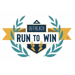 Run to Win logo