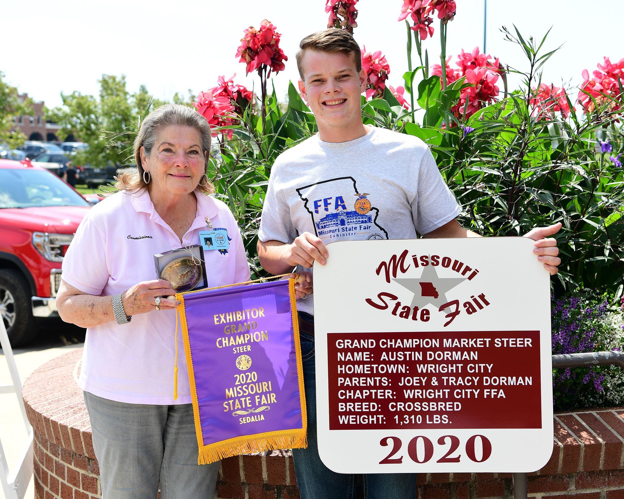 2020 Champion Steer