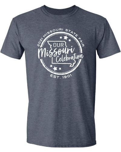Official Missouri State Fair Logo Apparel