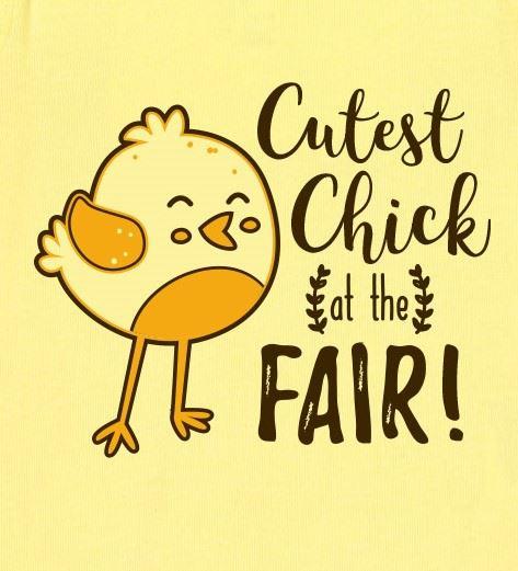 Cutest Chick Onesie