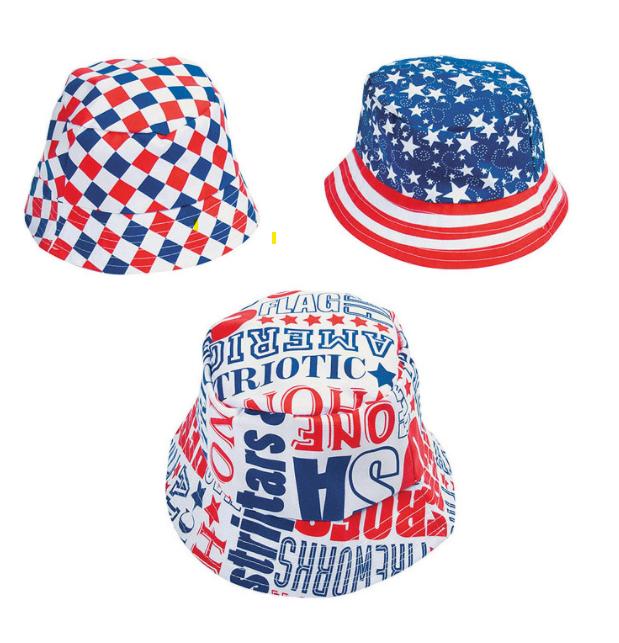Youth Patriotic Bucket Hats