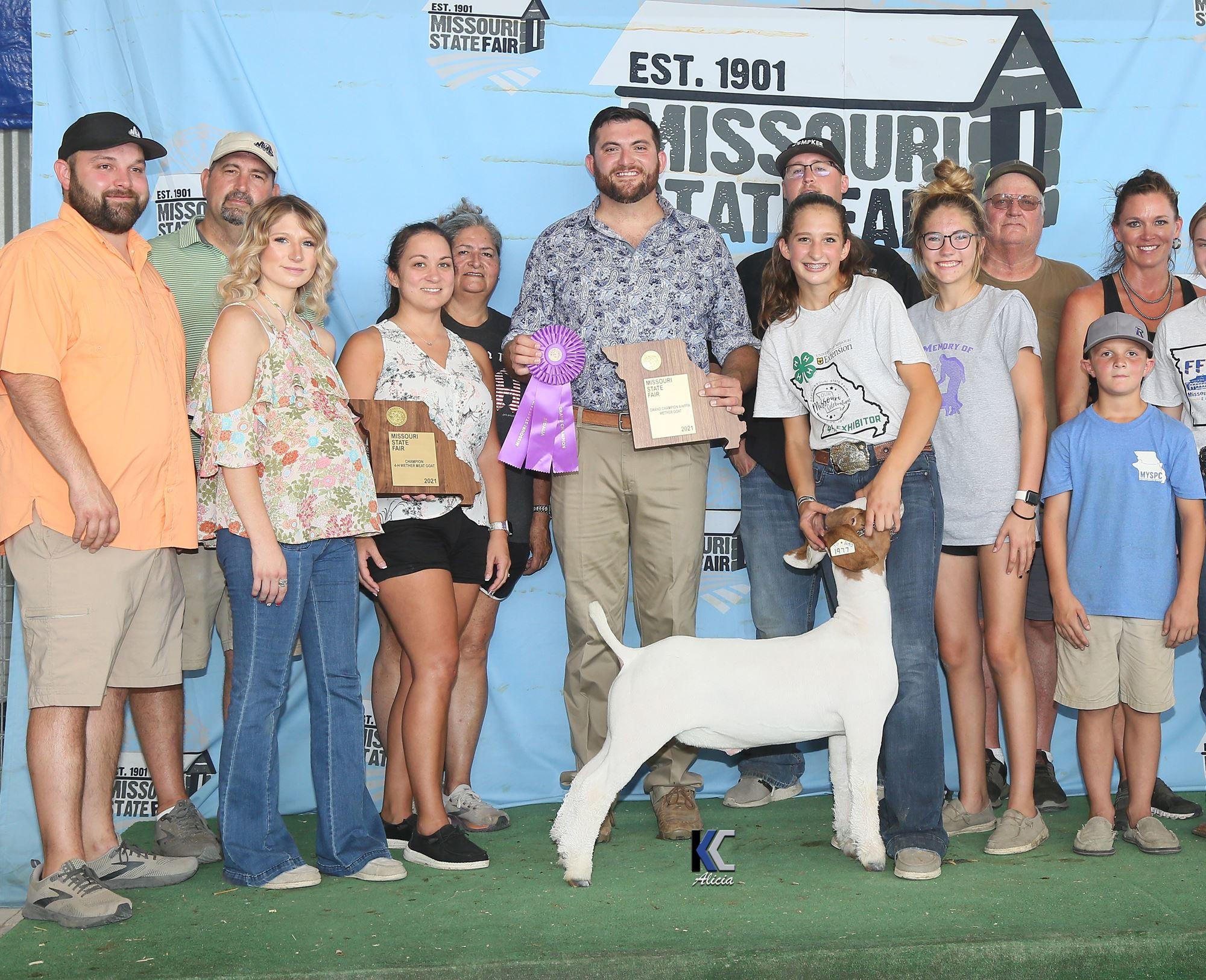 2021 Grand Champion Market Goat