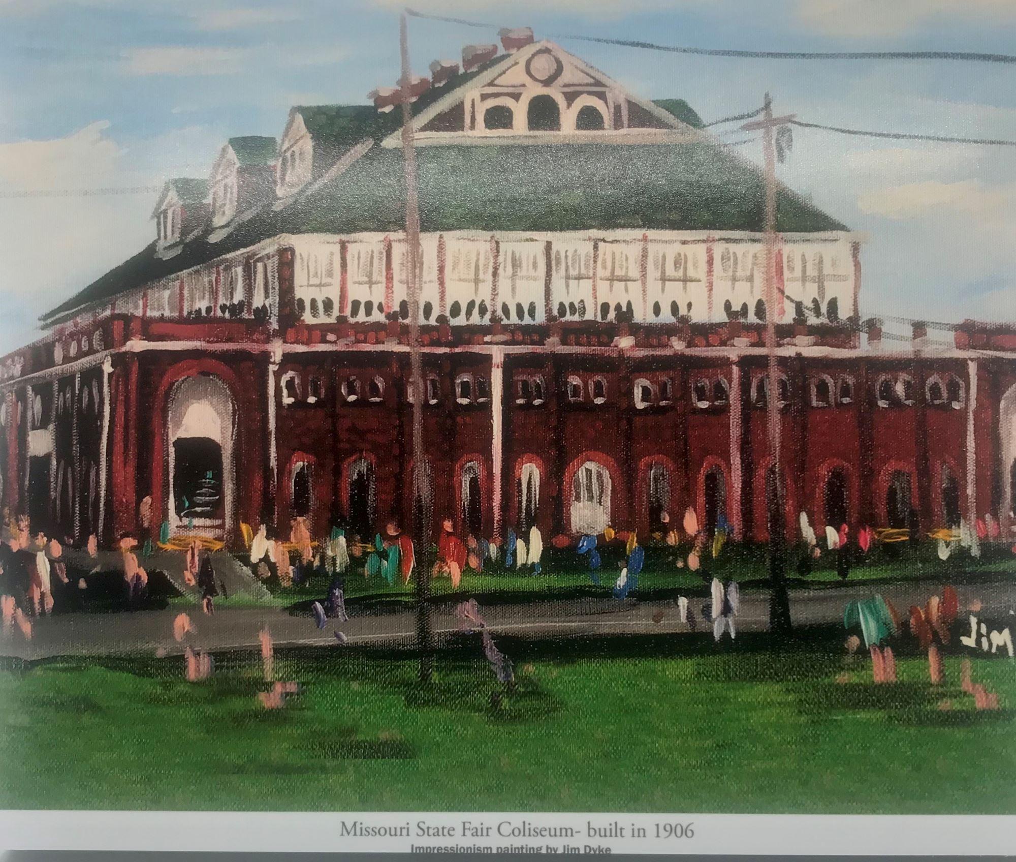8x10 Coliseum Picture