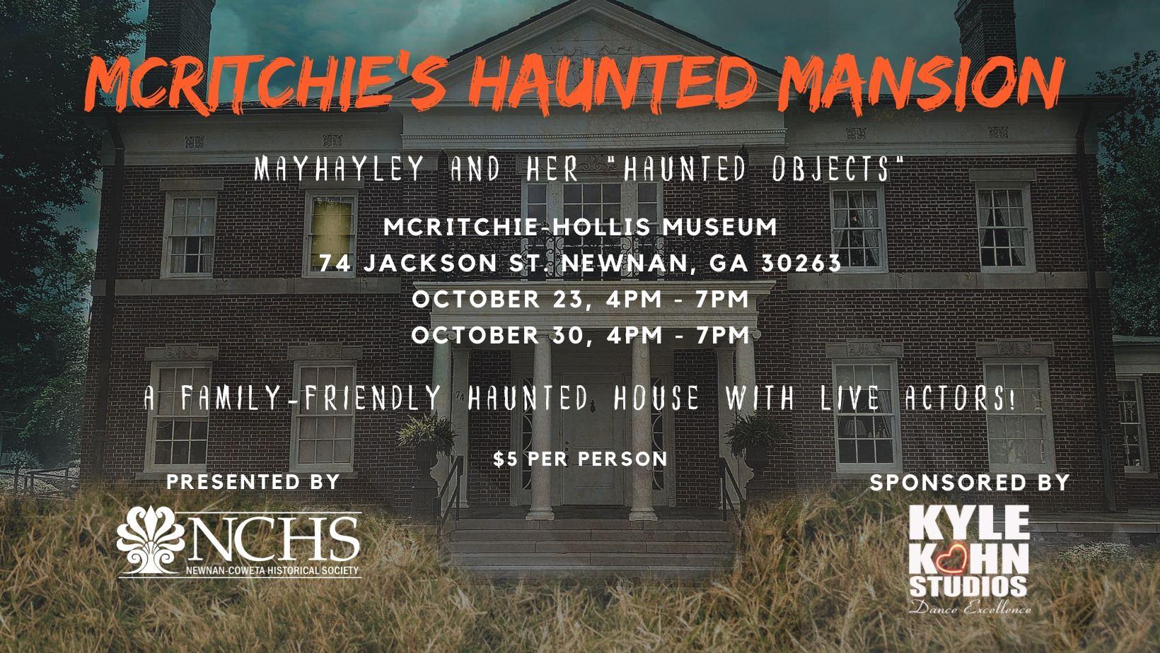 McRitchie's Haunted Mansion