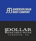 Dollar Western Wear - Anderson Bean Boot Company