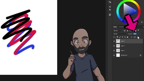 Let's Draw Digital with Joe Cadena II Layer and Weight