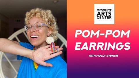 Pom Pom Earrings with Molly Sydnor