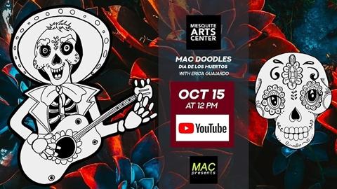 MAC Doodles: Dia de los Muertos