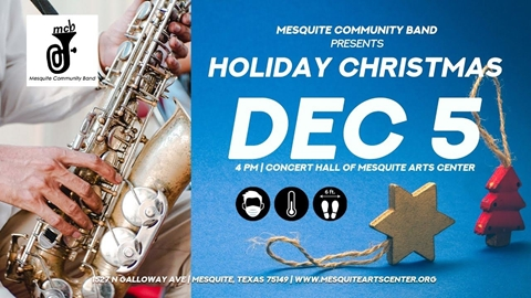 Mesquite Community Band Christmas Concert
