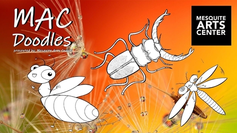 MAC Doodles: Insects and Bugs