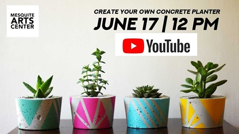 Create Your Own Concrete Planter