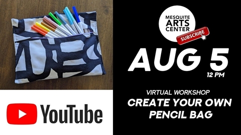 Create Your Own Pencil Bag