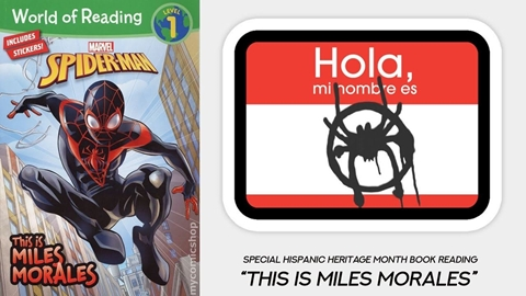 Book Reading: This is Miles Morales