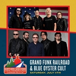 Grand Funk Railroad and Blue Öyster Cult Northern Wisconsin State Fair July 10th