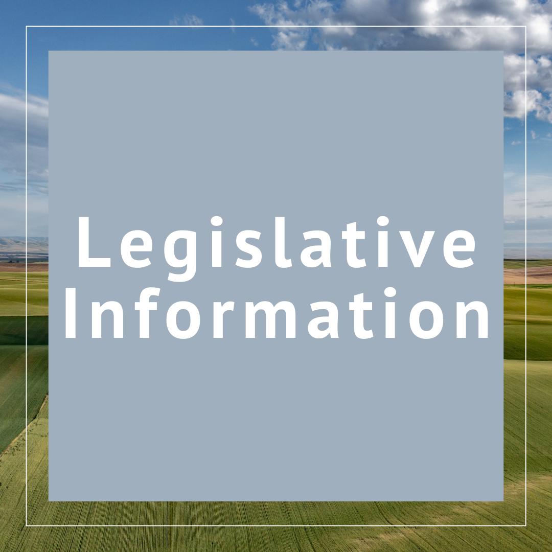 Legislative Session and Reports