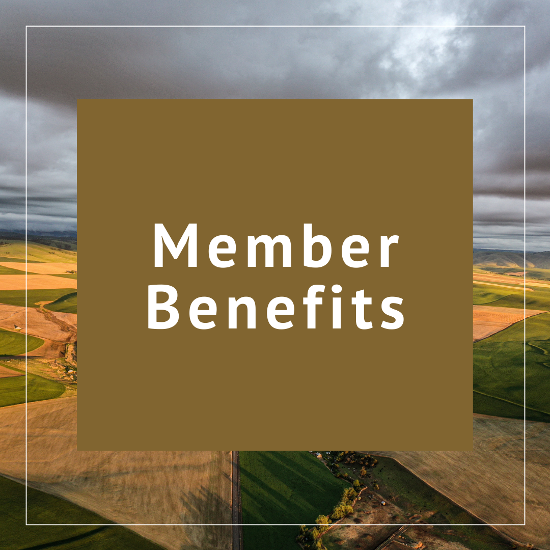 Benefits included with your membership