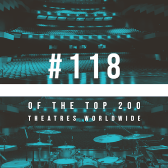 Old National Events Plaza Places #118 out of Top 200 Theatres in the World