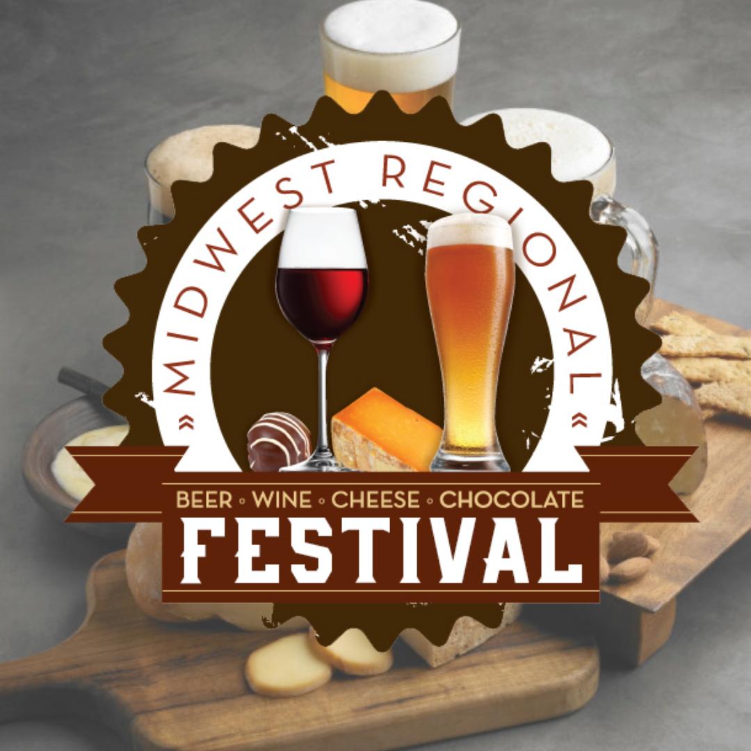 Beer Wine Cheese & Chocolate Festival Logo