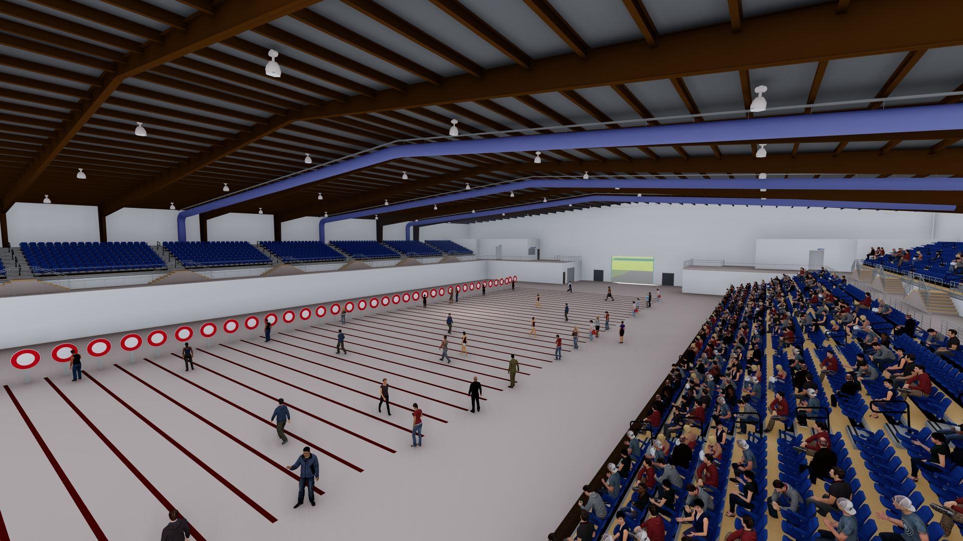New arena archery tournament rendition