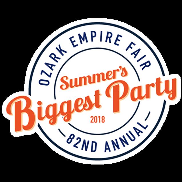 2018 Ozark Empire Fair Summer's Biggest Party Logo