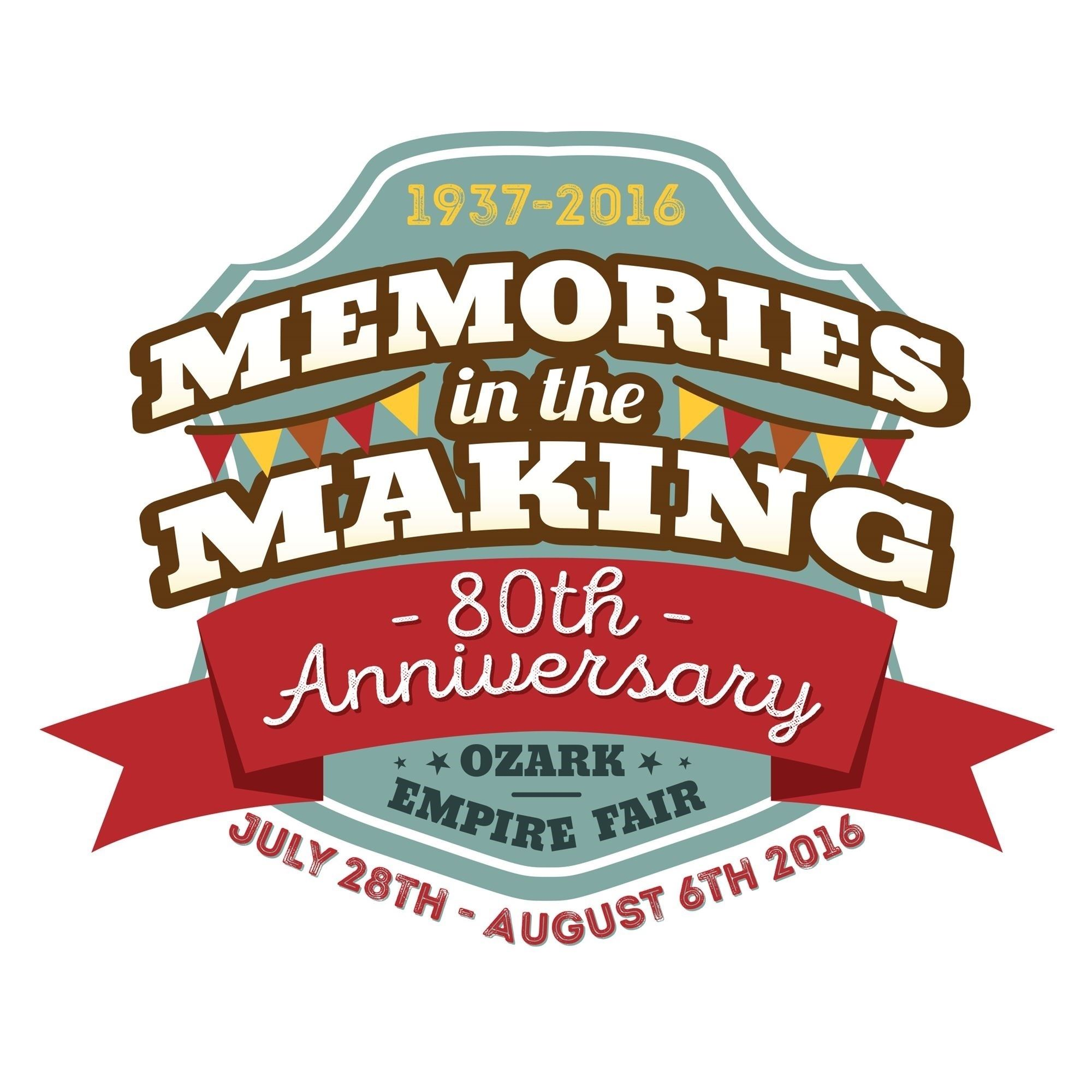 2016 Ozark Empire Fair Memories in the Making Logo