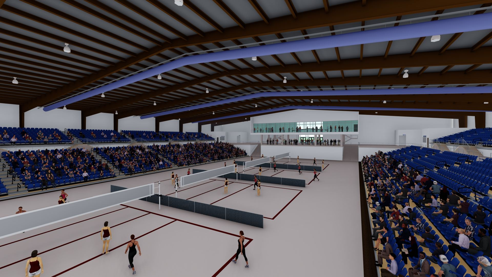 Inside new Arena Volleyball game rendition