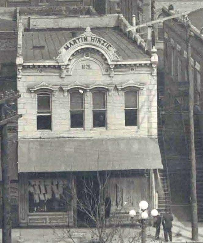 Martin Hinzie Building - 1913