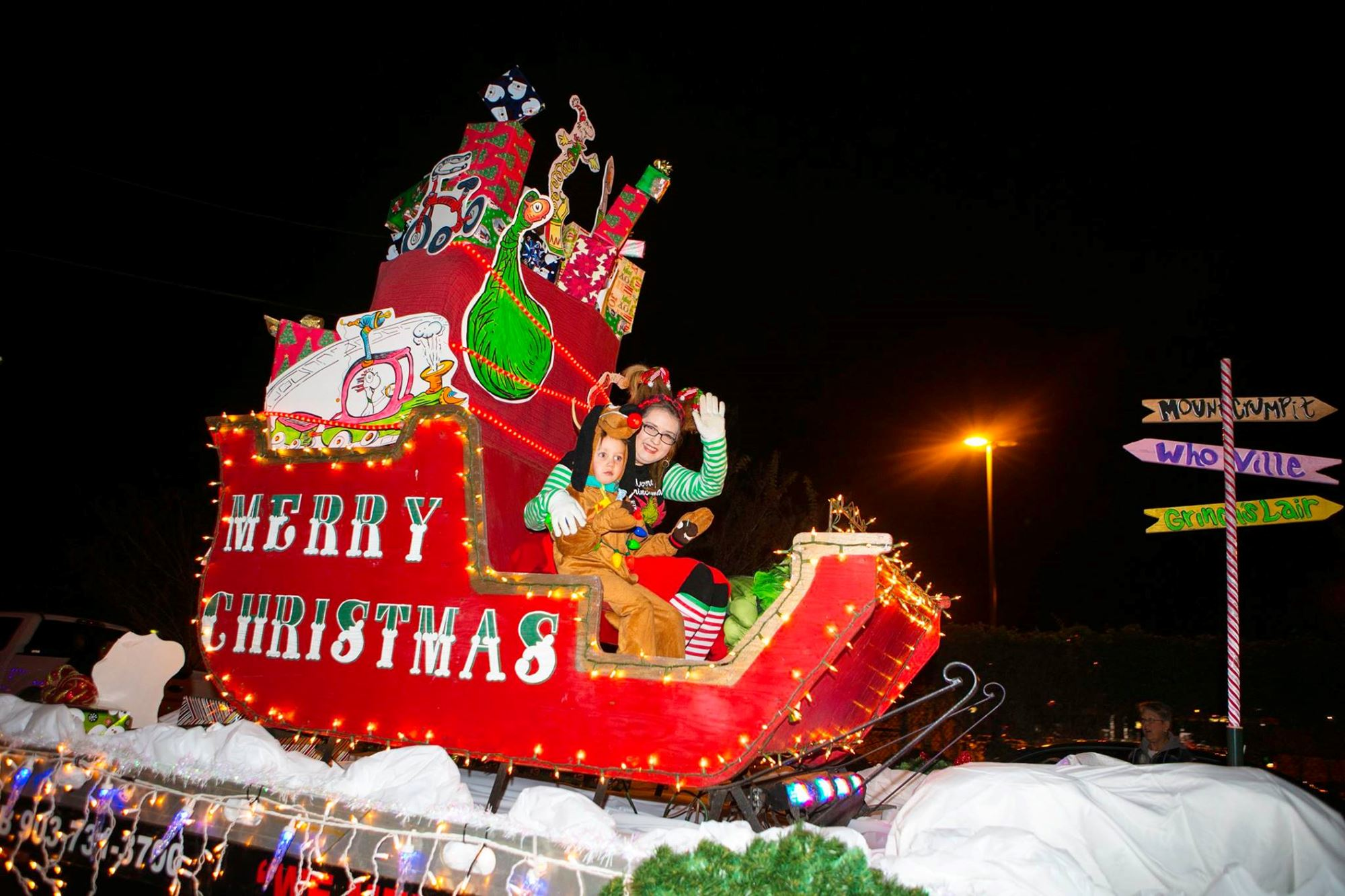 Christmas in Palestine Parade of Lights