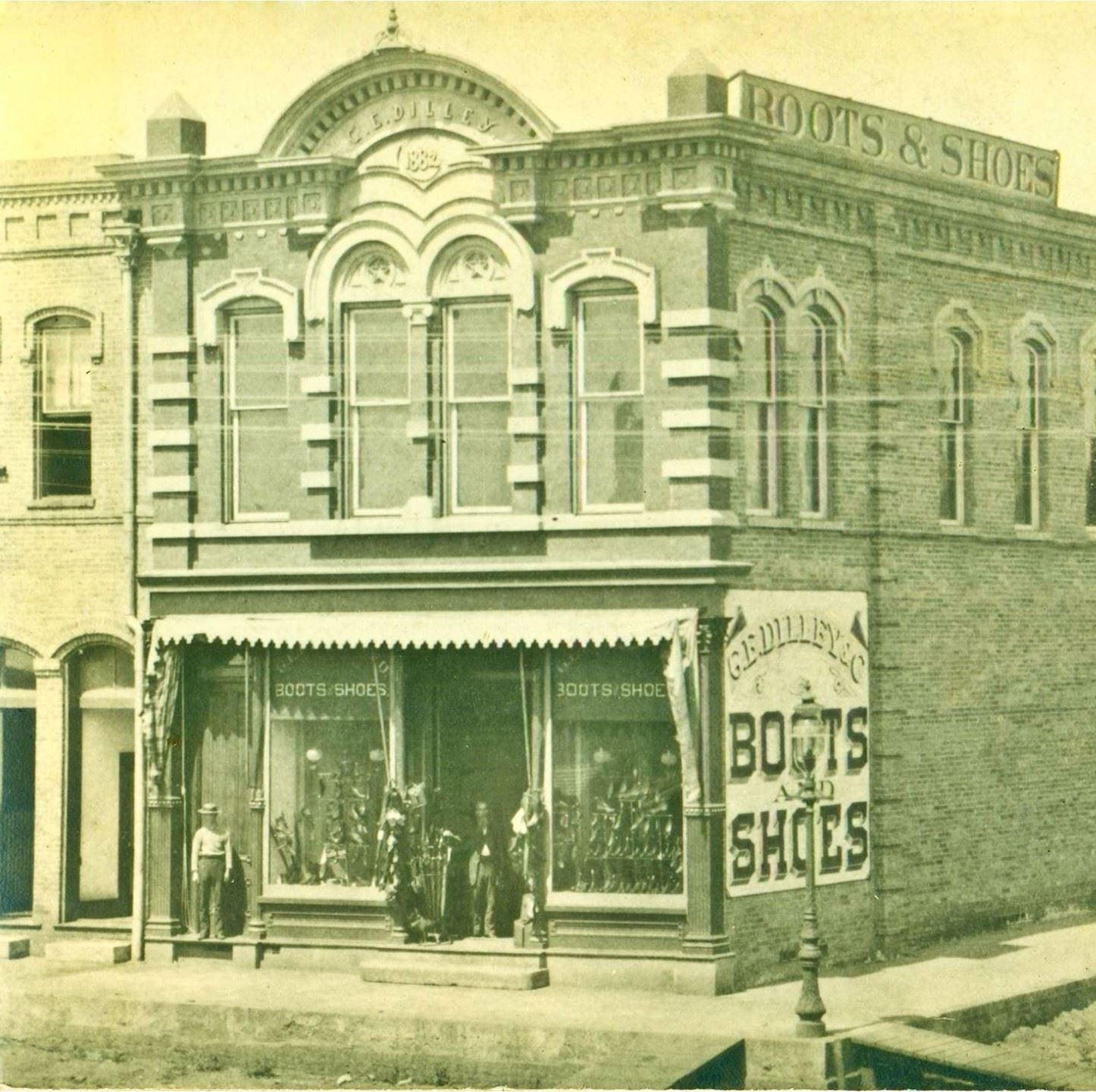Dilley Building - 1880's